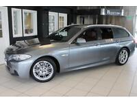 2011 11 BMW 5 SERIES 3.0 528I M SPORT TOURING 5D 255 BHP