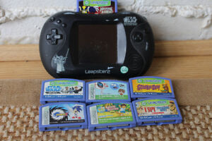 Leapster2 Educational Game Console, w/7 games: $75.00