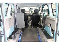 Renault Kangoo Auto Automatic Wheelchair or mobility scooter access car vehicle