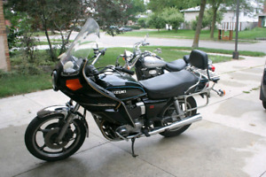 1979 suzuki gs850 motorcycle