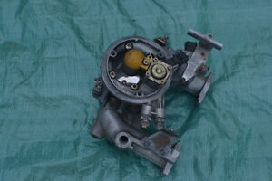 Austin Rover Mini fuel injected carb with alloy intake