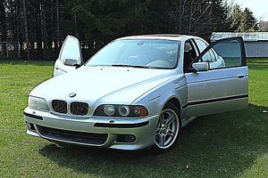 2001 BMW  540i m-package