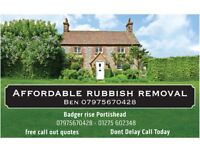 AFFORDABLE RUBBISH REMOVAL / WASTE CLEARANCE 24/7 CHEAPEST IN BRISTOL & SURROUNDING!! Skip