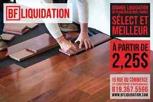Plancher de bois-francs grade sélect et meilleur