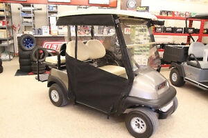 2009 CLUB CAR Precedent Electric Golf Cart with Enclosure