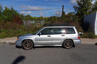2002 Subaru Forester S Sport Swap WRX 2004 Stage 2 XPT