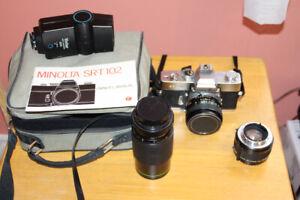 Caméra Minolta SRT102