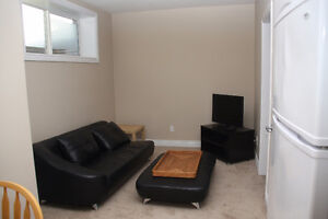 Available  immediate fully furnished basement suite