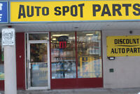Auto Parts Counter Person