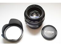 Canon 28mm f1.8 USM and B+W UV filter