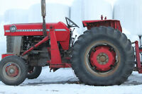 Massey Ferguson Model 165 Tractor with loader