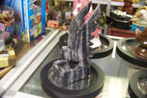 Marble Eagle 8 Inch Statue