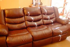 Couch and Lounge Chair Set