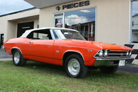 chevelle SS 1969 CONVERTIBLE 396PC REDUIT!$