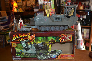 INDIANA JONES Jungle Cutter vehicle Kingdom of the Crystal Skull