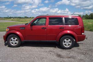 Clean 2009 Dodge Nitro 4X4 with Factory Tow Package