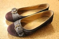 Size 8.5 Dark Purple SoftSpot Shoes