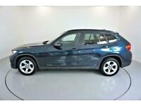 2013 BLUE BMW X1 2.0 XDRIVE18D SE DIESEL AUTO ESTATE CAR FINANCE FR £185 PCM