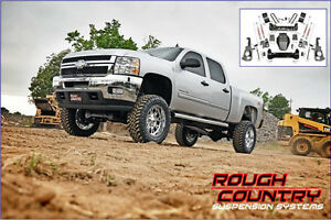 Rough Country LIFT KIT 7.5'' Sierra 2500/3500 HD 11-15