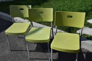 3 Chaises Intérieur/Extérieur