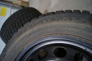 4 - Gislaved Nordfrost 5 Winter Tires on rims Peterborough Peterborough Area image 4