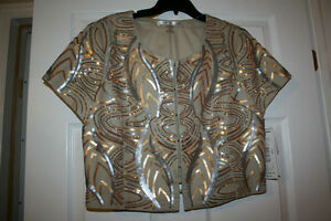 Peter Nygard Short-Sleeved  Jacket   NEW PRICE