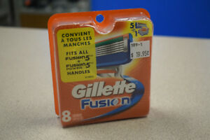 Gillette Fusion 8 Pack Replacement Razor Blades
