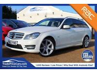 2012 M MERCEDES-BENZ C CLASS 1.8 C180 BLUEEFFICIENCY SPORT 5D 155 BHP