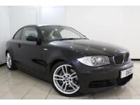 2008 08 BMW 1 SERIES 3.0 135I M SPORT 2DR 302 BHP