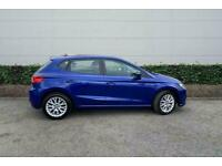 2017 SEAT Ibiza 1.0 SE 5dr Hatchback Manual Hatchback Petrol Manual