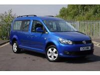 Volkswagen Caddy Maxi C20 Life TDi Auto 7 seater DIESEL AUTOMATIC 2013/13
