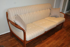 Vintage Teak Chair and Couch