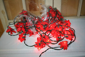 14.  Indoor Christmas Light Decorations- See photos