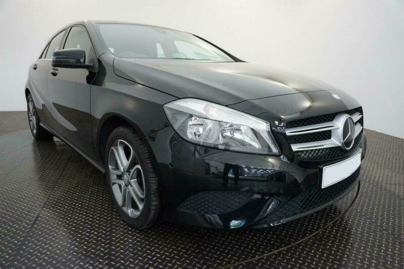 2014 BLACK MERCEDES A180 1.5 CDI SPORT DIESEL AUTO CAR FINANCE FR £185 PCM