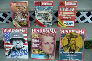 HISTORAMA ( $ 8.00 pour les 7 REVUES )