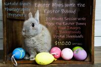 EASTER MINI SESSIONS /AWESOME PACKAGE WITH EASTER BUNNY
