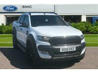 2018 Ford Ranger 3.2 TDCi Wildtrak Double Cab Pickup Auto 4WD 4dr Pick Up Diesel