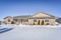 Stunning Stone Bungalow in Executive Subdivision