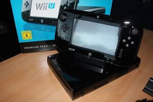 Wii U with 3 games and 2 controllers