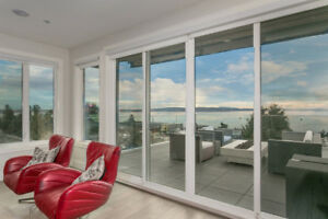 Ocean View Luxury Home Furnished (white rock)