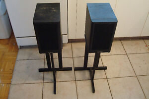 Rare Haut parleurs Mission Cyrus 780 Speakers - Supports extra