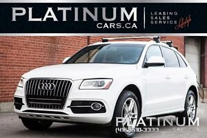 2014 Audi Q5 2.0 QUATTRO/ TECHNIK/  PREMIUM/ PANORAMIC ROOF/ AL