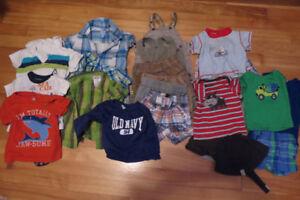 Lot de vêtements 3-6 mois été garçon (22 mcx)