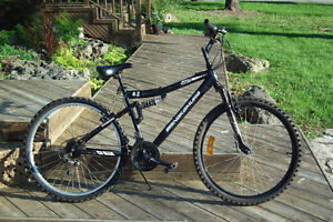 18 Spd.Dual Suspension Mountain Bike Can Deliver Mint Condition