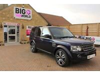 2016 LAND ROVER DISCOVERY 4 3.0 SDV6 COMMERCIAL SE 255 BHP PICK UP DIESEL
