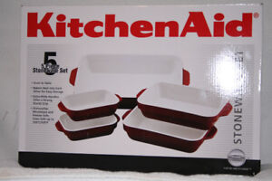 KitchenAid 5pc Stoneware Set