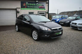 Ford Focus 1.6 ZETEC 5 DOOR BLACK 2008 MODEL +BEAUTIFUL+