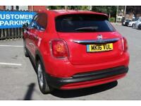 2016 16 FIAT 500X 1.6 MULTIJET POP STAR 5D 120 BHP DIESEL