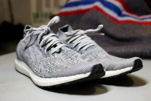Adidas UltraBOOST Uncaged M Grey White LTD Men's Shoes SIZE 13