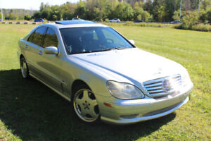 Mercedes Benz 2002 S430 (600 AMG PACK)